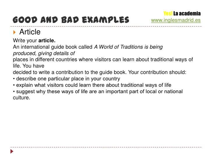 FCE Writing Course - B2 First Certificate Cambridge English