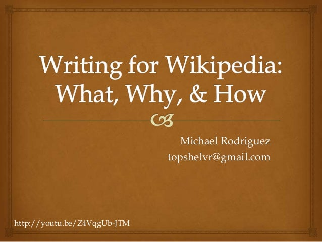 Michael Rodriguez topshelvr@gmail.com  http://youtu.be/Z4VqgUb-JTM