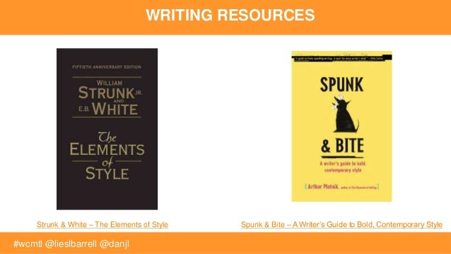 Bite bold contemporary guide spunk style writer