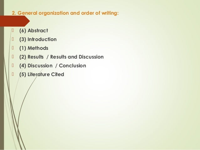 writing scientific papers How do i write a scientific review research paper originally appeared on quora: the place to gain and share knowledge, empowering people to learn from others and better understand the world.