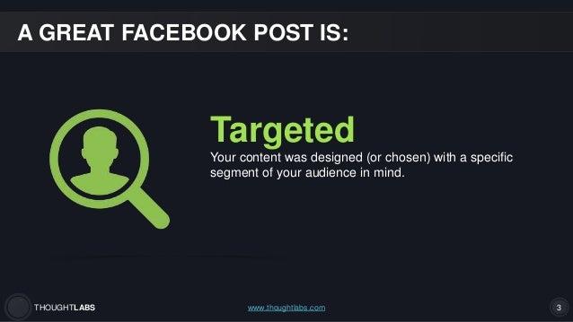 Facebook Basics: How to Write Great Facebook Posts Slide 3