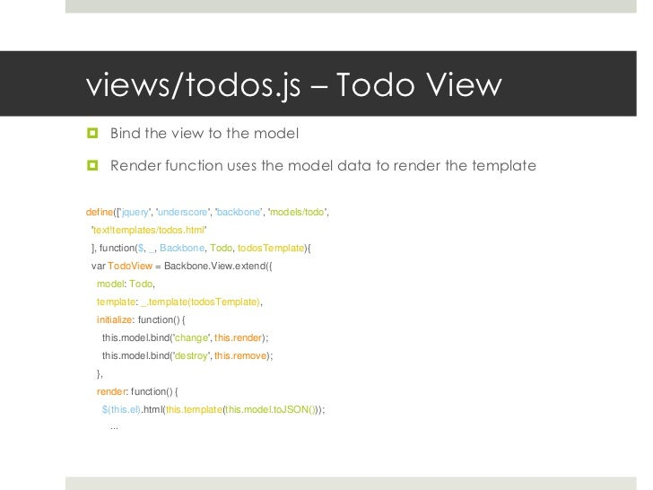 writing html5 web apps using backbone js and gae