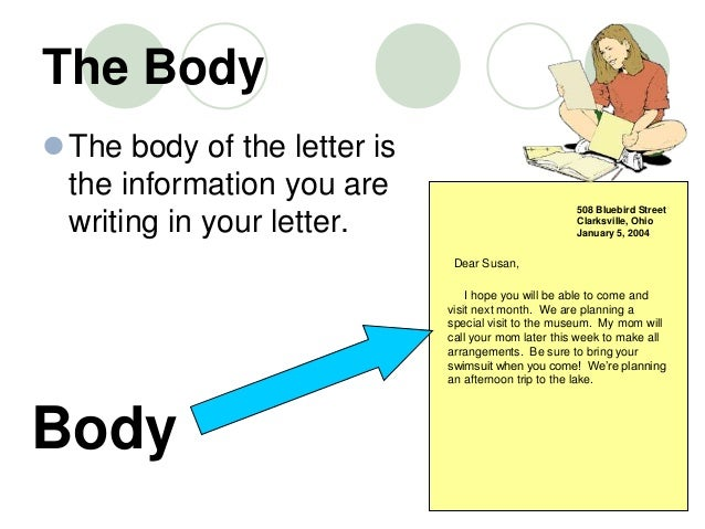 Body of letter mersnoforum body of letter writing informal letters expocarfo Choice Image