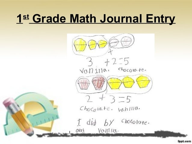 Writing in math examples.
