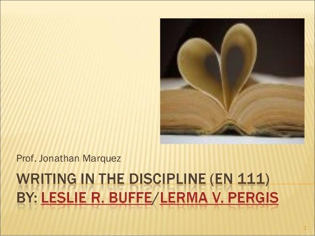 Prof. Jonathan Marquez 1