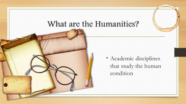 Humanities Definition