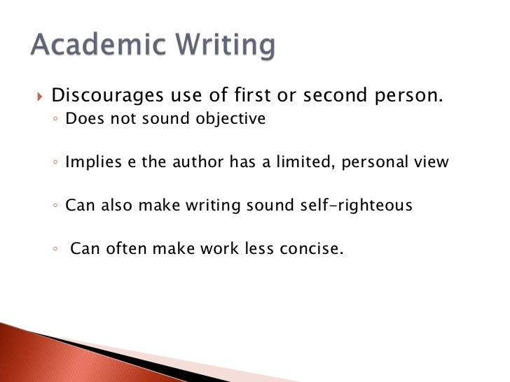 write academic essays