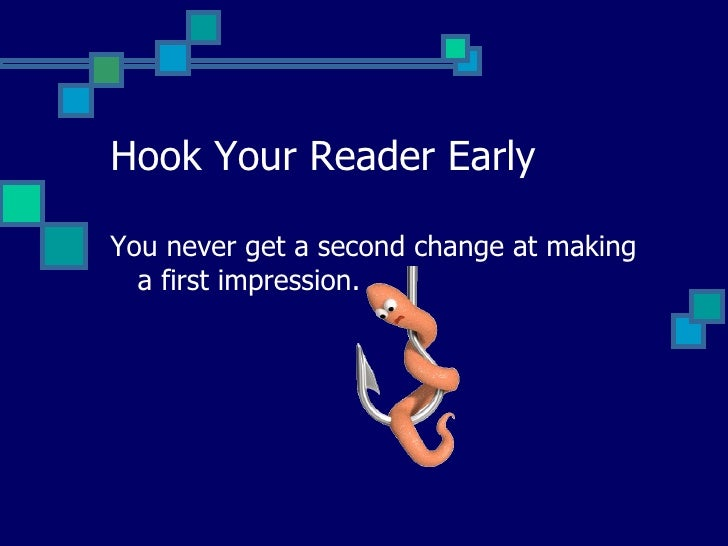 hook your reader hook