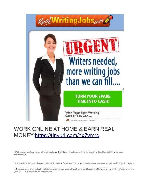 writing jobs work at home earn daily 6 work online at home