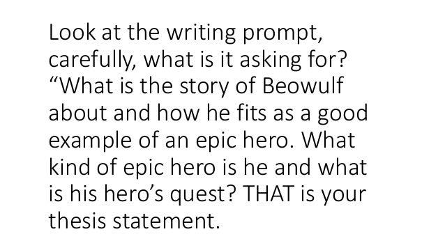 Top 3 Beowulf Essay Topics