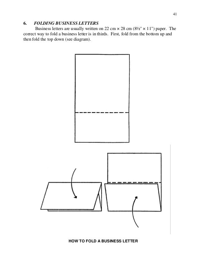 folding business letter   Yeni.mescale.co