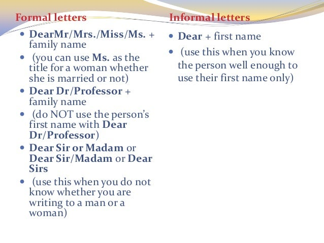 How To Address A Letter Without A Name