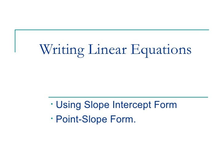 Writing Linear Equations 1 728gcb1285076007
