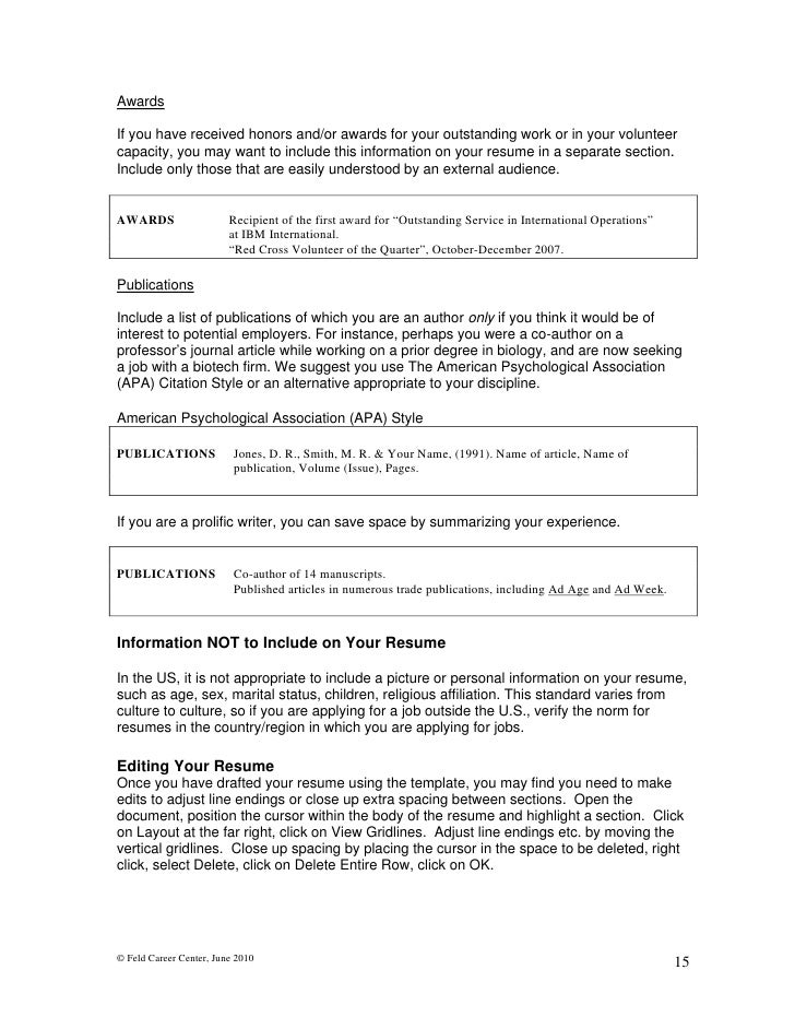 How To Write Your Resume | Resume Writing And Administrative