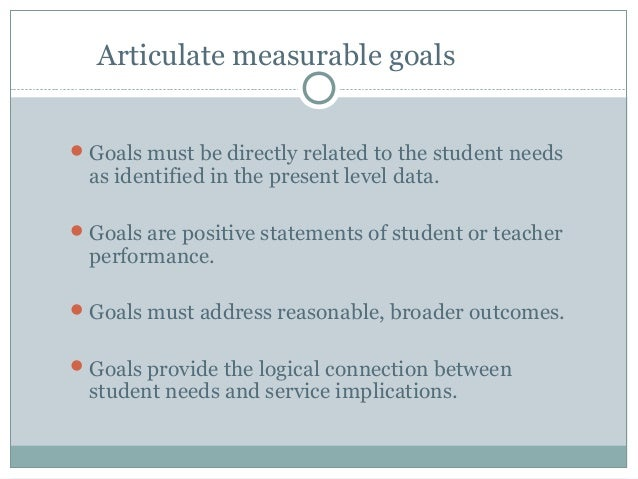 Writing measurable objectives 41 articulate measurable goals pronofoot35fo Image collections