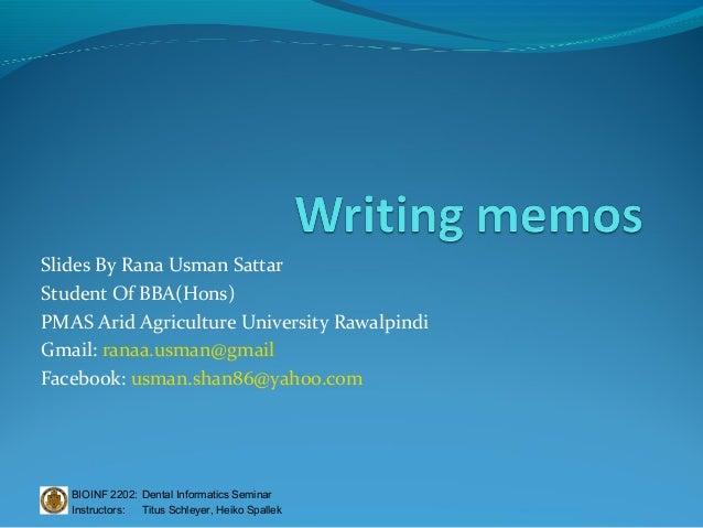 Slides By Rana Usman SattarStudent Of BBA(Hons)PMAS Arid Agriculture University RawalpindiGmail: ranaa.usman@gmailFacebook...
