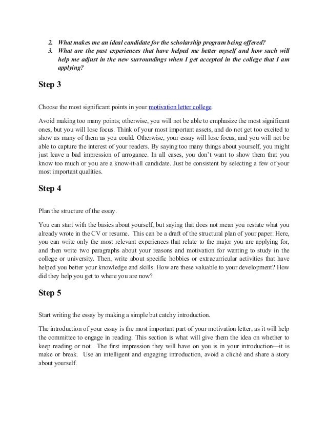 motivated by applications essay I have enclosed a sample motivation letter below  for those of you writing  letters and essays, you might the following firefox add-on helpful.