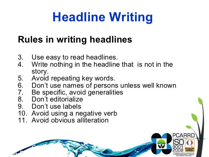 9 Tips for Writing Great Headlines in 2017