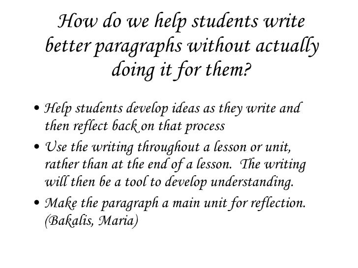 paragraph writing powerpoint presentations The narrative paragraph narration is a piece of writing that tells a story of an  event  a free powerpoint ppt presentation (displayed as a flash slide show)  on.