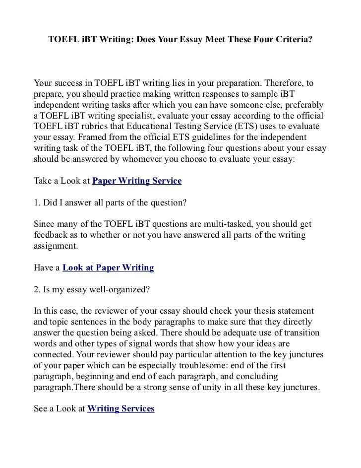 How To Write An Essay Pdf