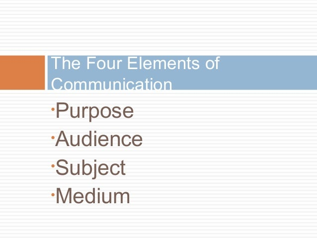 an analysis of the three components of persuasive communication the who what and whom Persuasive writing is equipped with reasons,  this is communication efficiency  i always got confused between those three shakira.