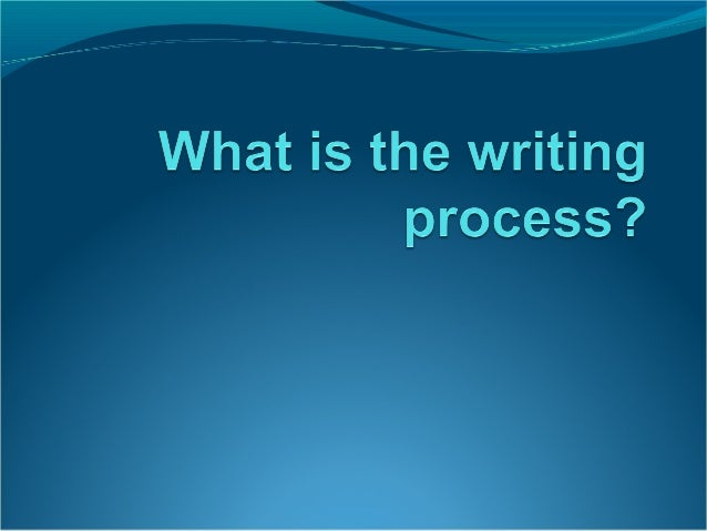 Stages of WritingPrewritingDraftingRevisingEditing