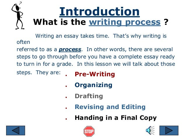 which of the following is the step you should complete your essay-writing process with Writing a descriptive essay writing a persuasive essay if there is a trick to writing a process paper if you can, try following your own steps to the letter to see if they do, in fact, bring about the desired result.