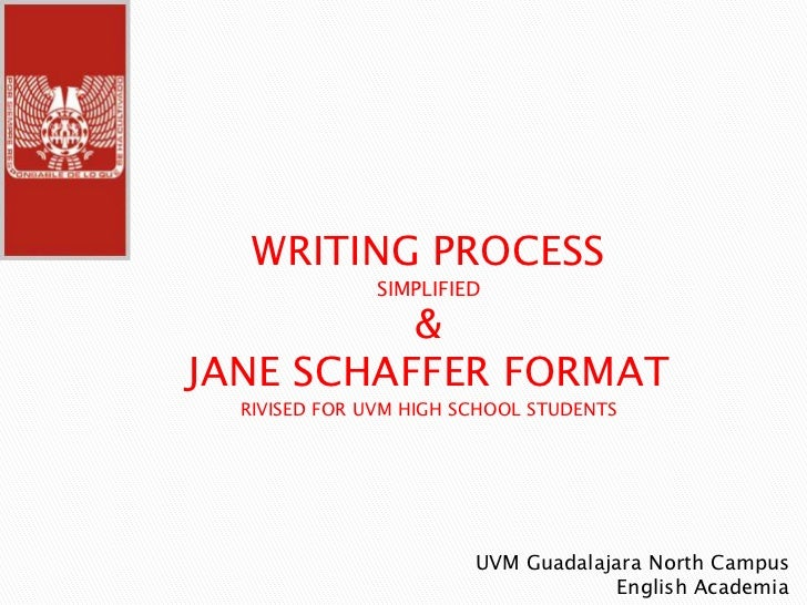 jane shafer essay Schaffer paragraph exampleit can be a challenge to make a point in five short sentences nevertheless, it can be done with the help of the schaffer paragraph.