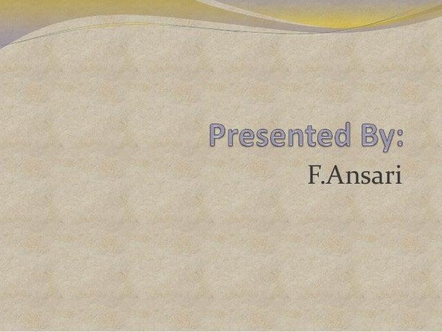 F.Ansari