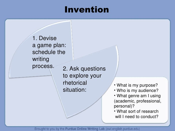 Essay invention
