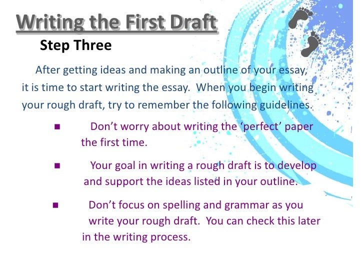 Custom essay research paper rough draft