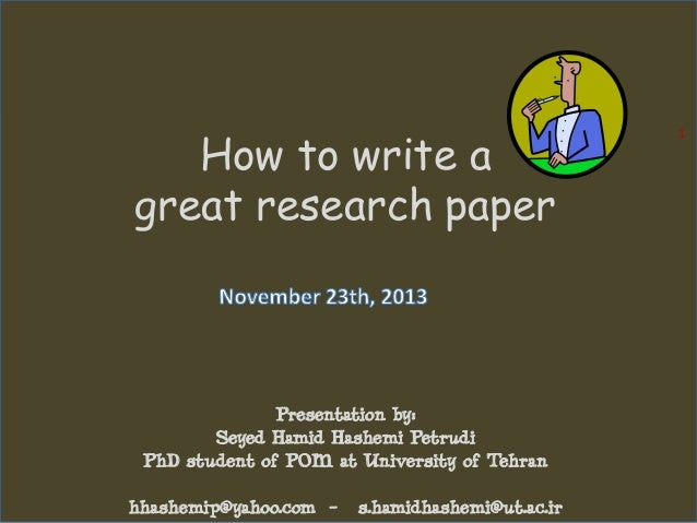 Research paper how to write a conclusion on plagiarism