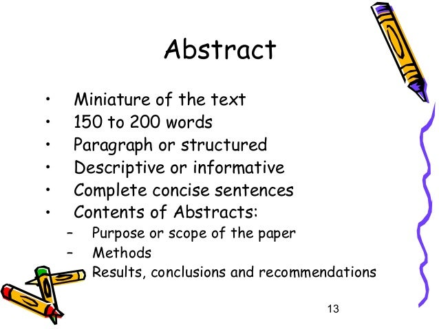 purpose of keywords in research papers Writing a research manuscript is an intimidating process for many novice writers in the sciences one of the stumbling blocks is the beginning of the process and creating the first draft this paper presents guidelines on how to initiate the writing process and draft each section of a research.