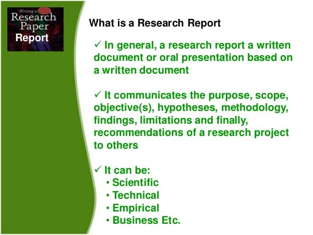 What Are the Four Stages of the Process of Writing a Research Paper?