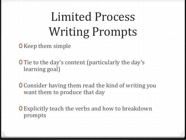 process essay prompts