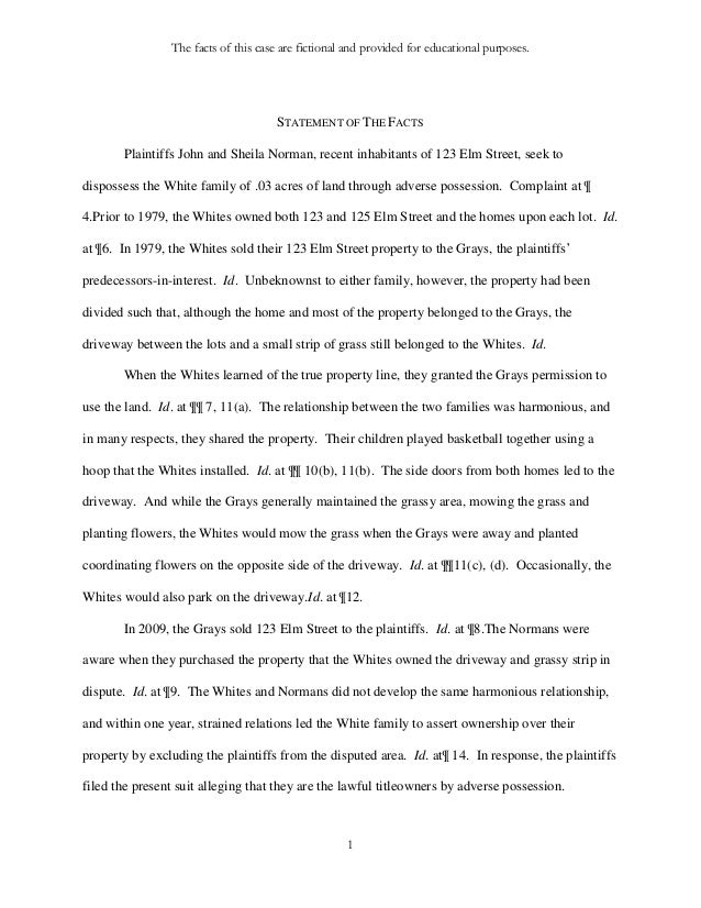 Affidavit Of Fact Template Affidavit Of Fact  Affidavit Of