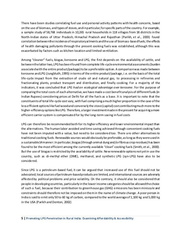 Essay on Liquefied Petroleum Gas (LPG) | Vehicular Pollution