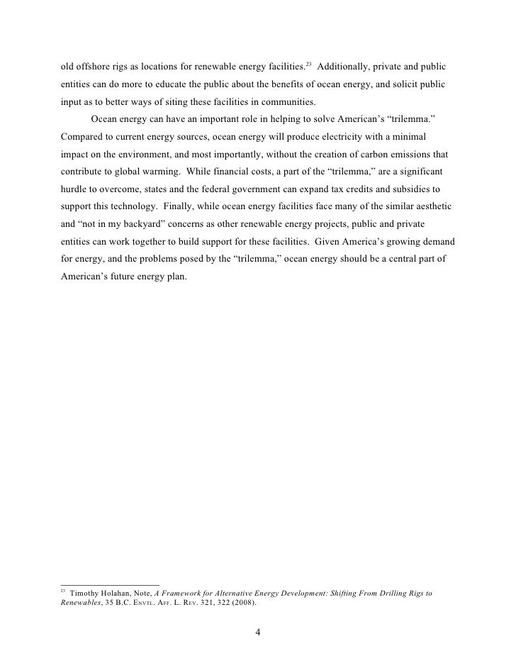 alternative fuel essay 5