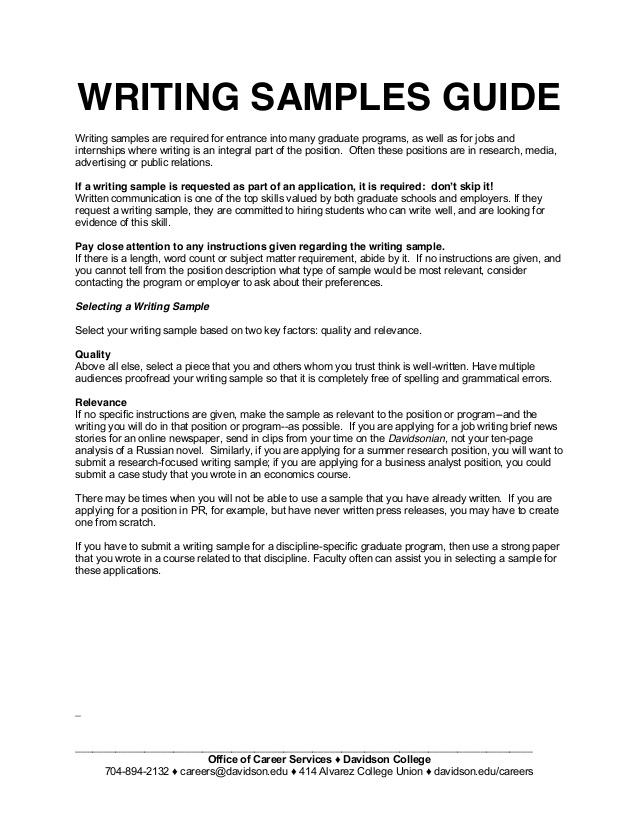 Writing graduate school admissions essay