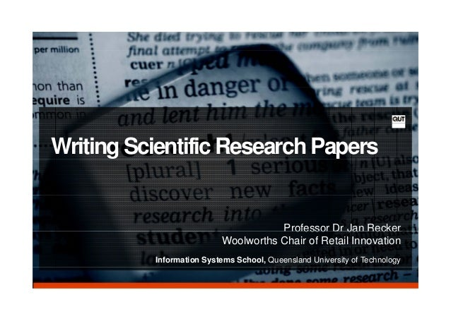 What tense should research papers be written in