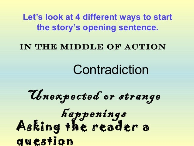 Writing using suspense and sentence openers for Soil in sentence