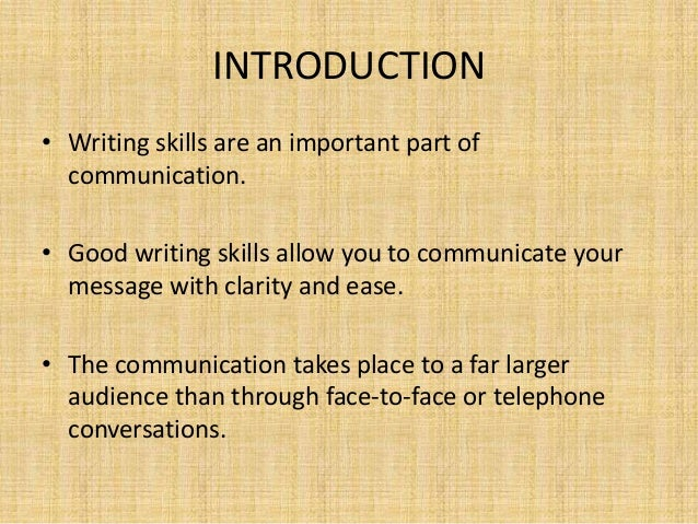 writing skills  university 2 introduction • writing skills