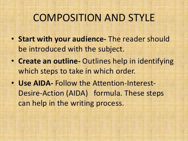 composition writing skills