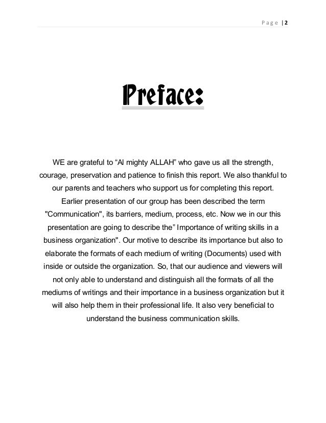 preface format research paper The multigenre research paper what is the format what kind of language is used preface: introduction to your project.