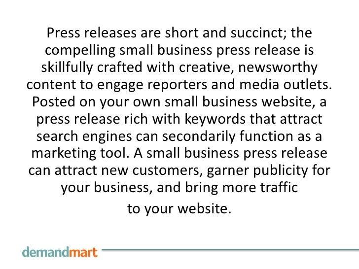 Free Press Release Distribution Service