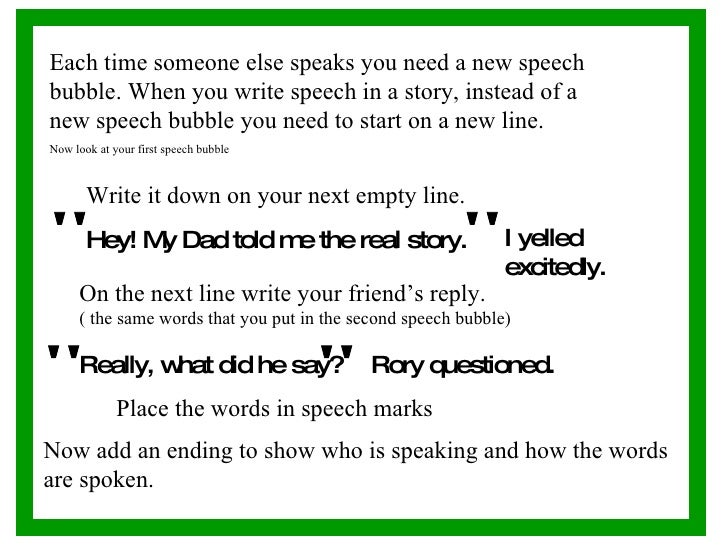 How to write a speech about a person