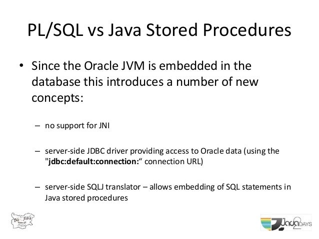 Using Java Database Connectivity (JDBC) with Oracle