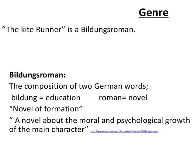 bildungsroman genre