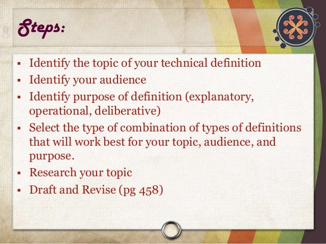 Technical writing help style definition