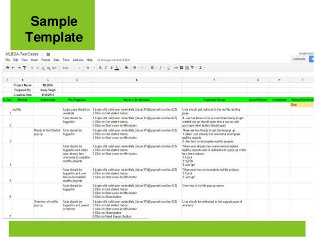 Writing Test Cases in Agile – Test Case Template